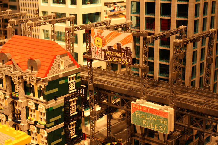Finns Basement, The Lego Movie Set, Detail