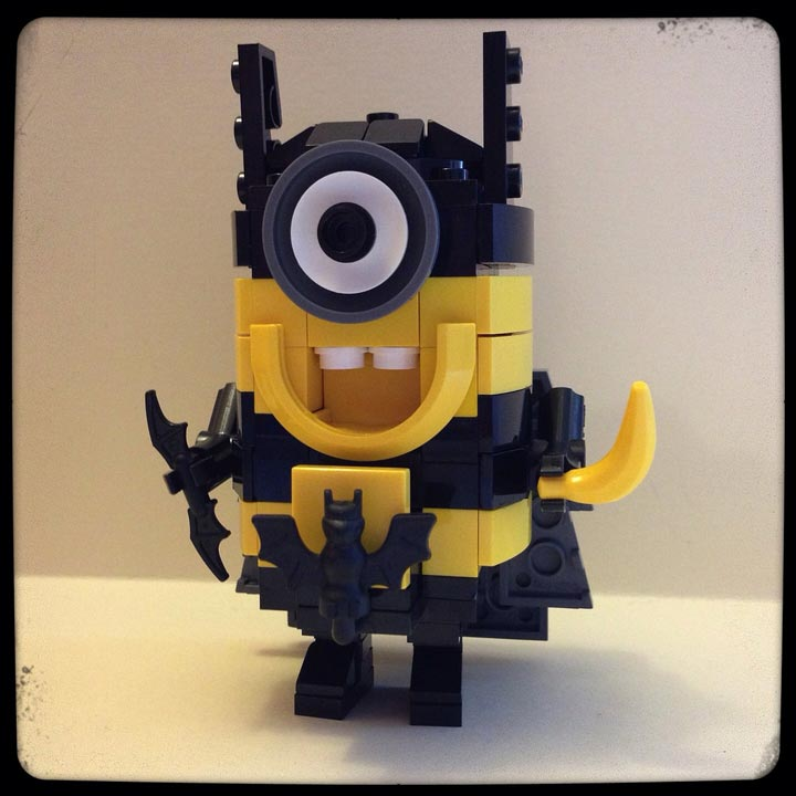 JesperGirl's Lego Despicable Me Batman Minion