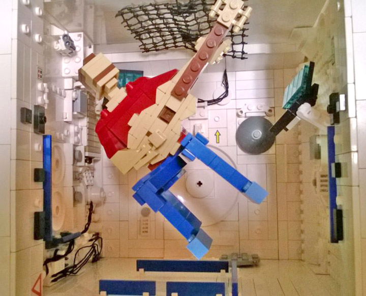 John Moffatt's Ground Control To Major Tom, Lego Chris Hadfield
