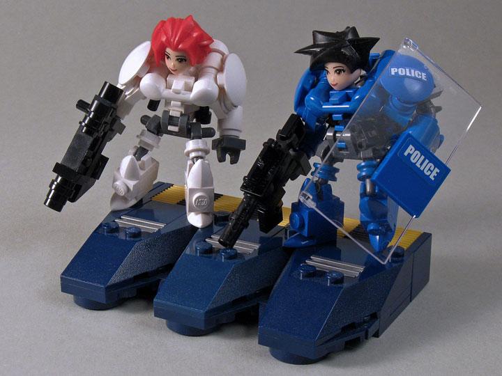 LarryLars's Lego Friends Cyborgs Friendly Fire