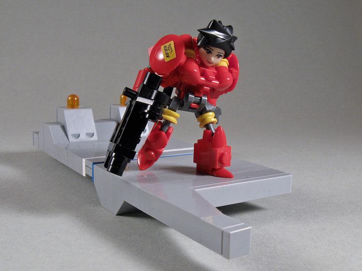LarryLars's Lego Friends Cyborgs Say Hello To My Little Friend