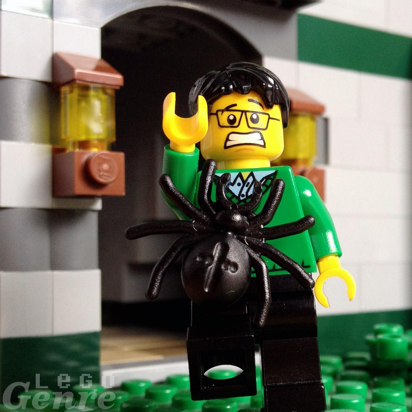 LegoGenre 00360: Get if off of me. GET IT OFF!