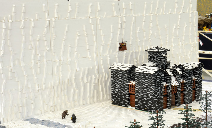 A Game Of Thrones, Castle Black Lego