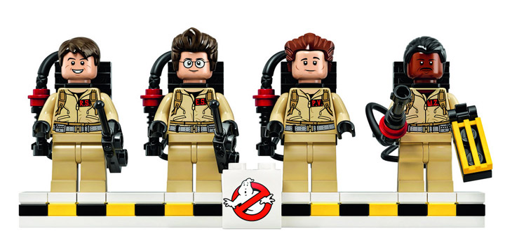 Lego Ghostbusters 21108 Minifigures