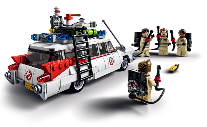 Lego Ghostbusters 21108 Ecto-1