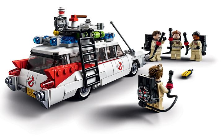 Lego Ghostbusters 21108 Ecto-1