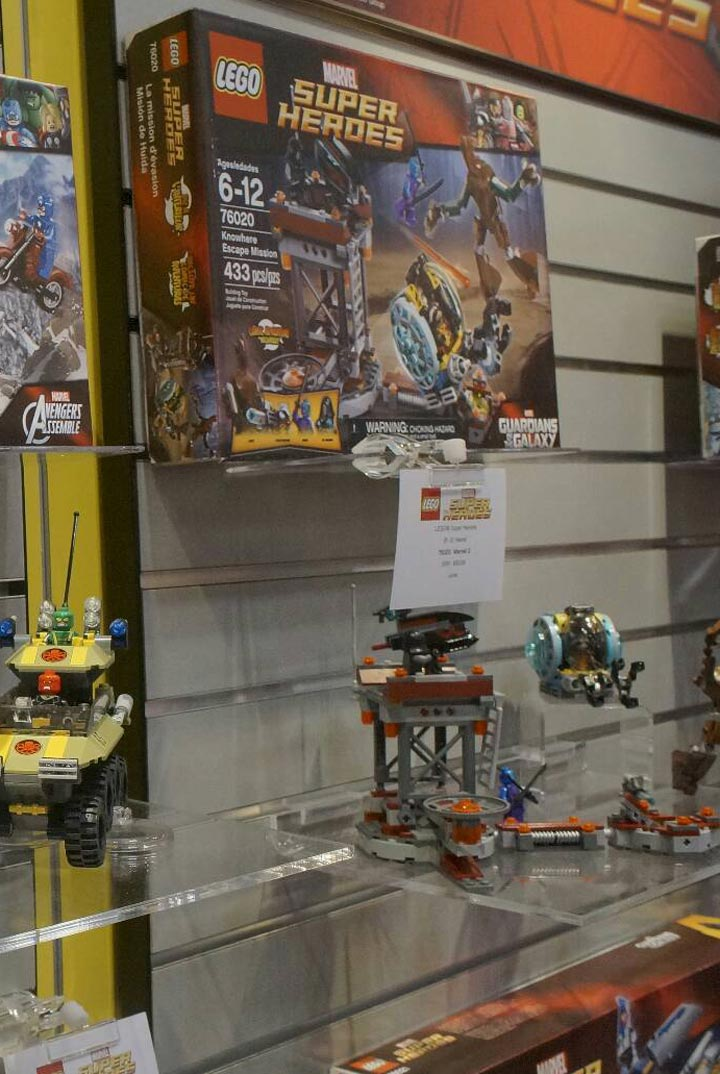 Lego Guardians of the Galaxy, Knowhere Escape Mission 76020