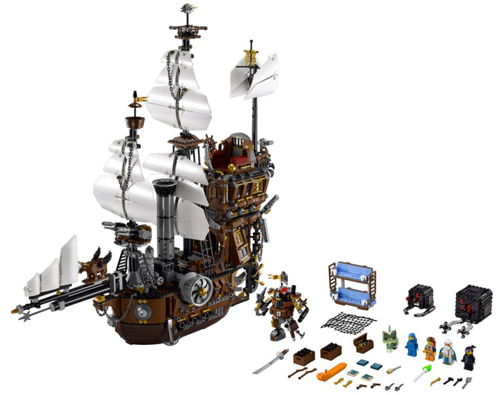 The Lego Movie, MetalBeards Sea Cow 70810 01