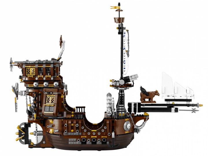 The Lego Movie, MetalBeards Sea Cow 70810 02