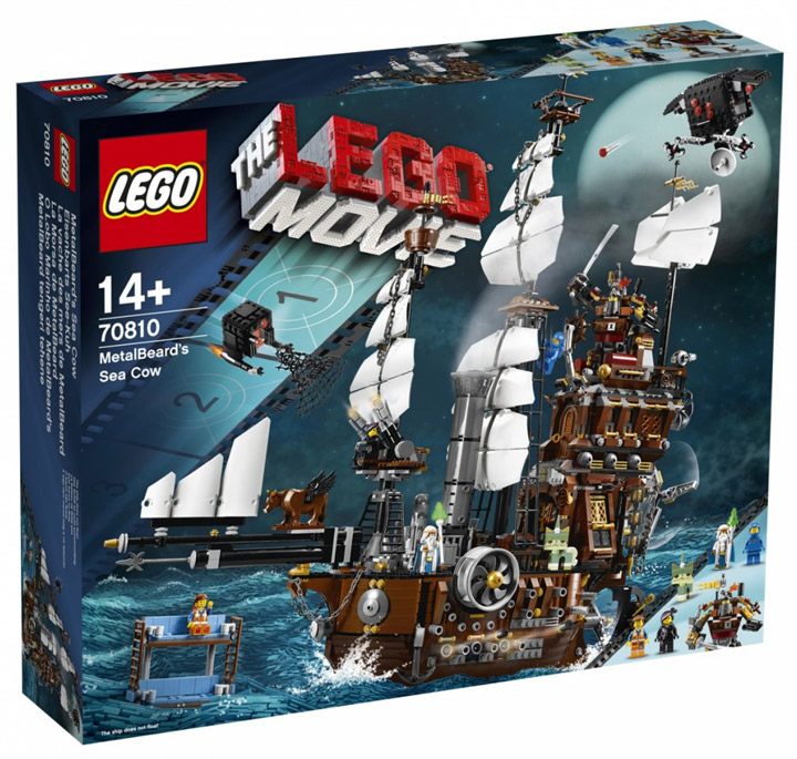 The Lego Movie, MetalBeards Sea Cow 70810 Box