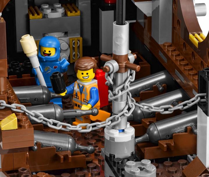 The Lego Movie, MetalBeards Sea Cow 70810 Cannons