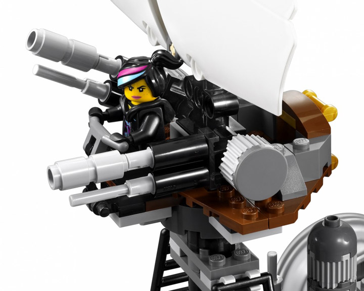 The Lego Movie, MetalBeards Sea Cow 70810 Crows Nest