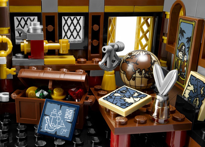 The Lego Movie, MetalBeards Sea Cow 70810 Interior
