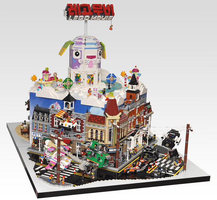 OliveSeon's The Lego Movie Diorama