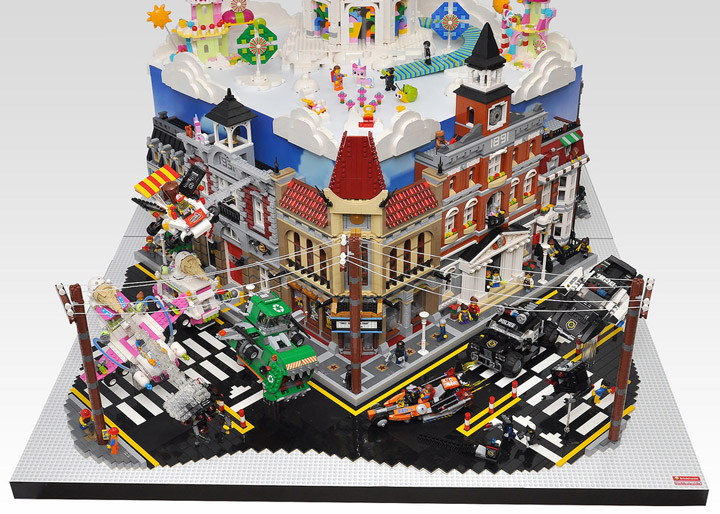 OliveSeon's The Lego Movie Diorama Detail
