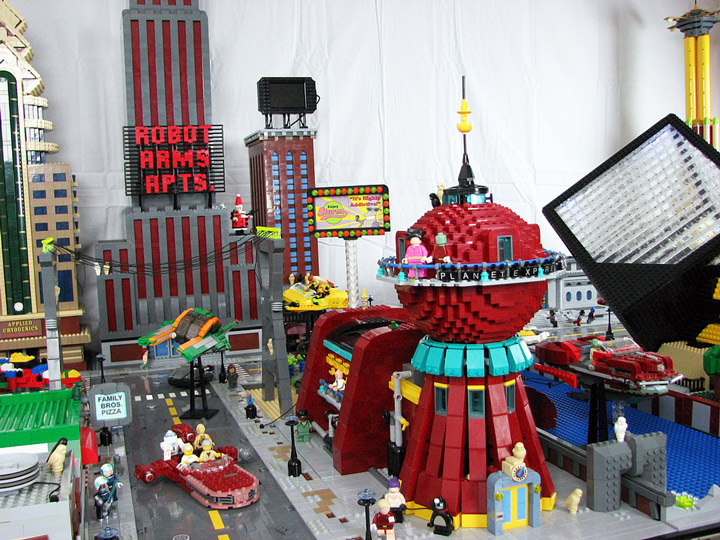 PepaQuin's Lego Futurama: The World of Tomorrow