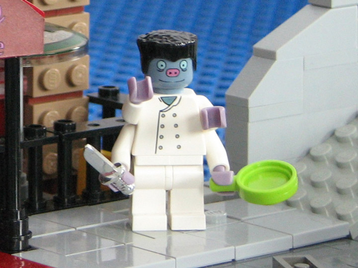 PepaQuin's Lego Futurama The World of Tomorrow. Elzar.