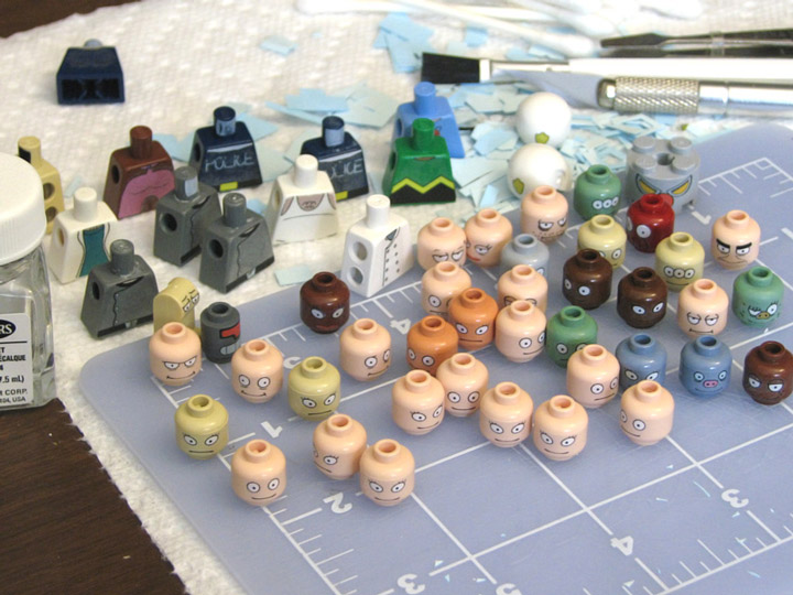 PepaQuin's The World of Tomorrow. Minifigures.