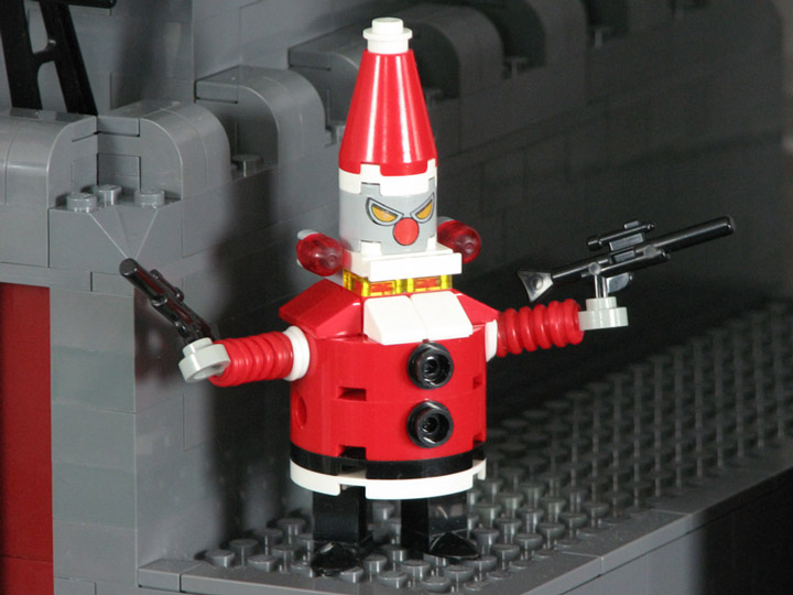 PepaQuin's Lego Futurama The World of Tomorrow. Robot Santa Claus
