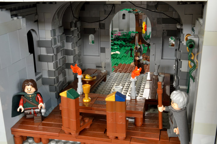 Winterfell Detail, A Game of Thrones Lego