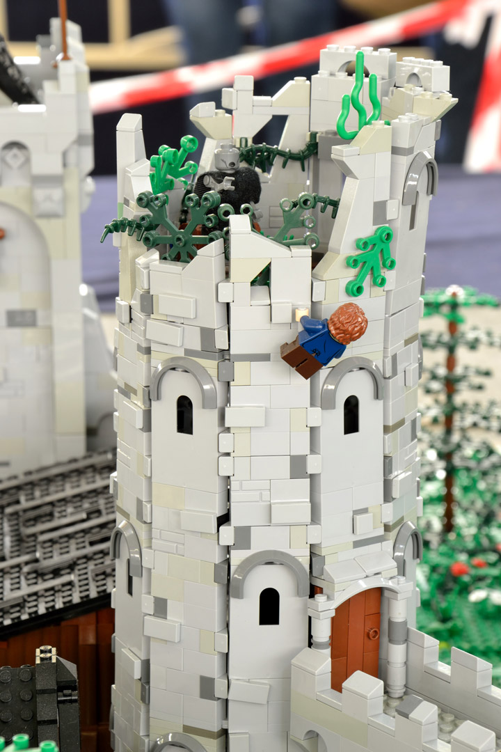 Winterfell with Bran Stark, A Game of Thrones Lego