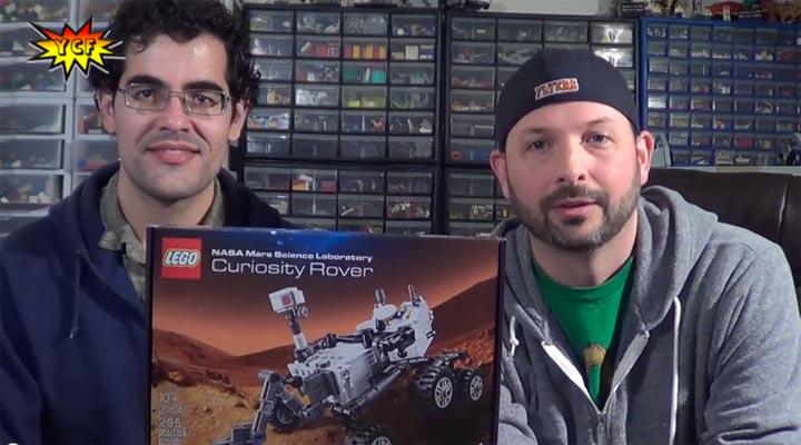 YCF LegoReviews: Curiosity Rover 21104