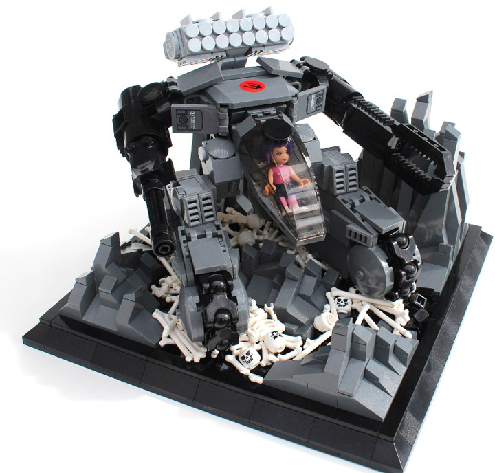 bermudafreze's Lego Friends Mech