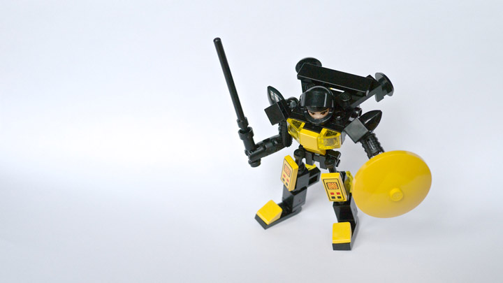 colgs3b's Lego Friends Hardsuit, Blacktron Olivia