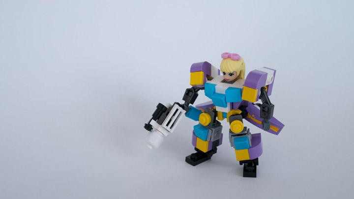 colgs3b's Lego Friends Hardsuit, Stephanie