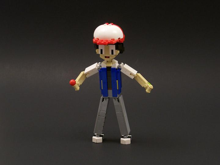 lisqr's Pokemon Lego Ash
