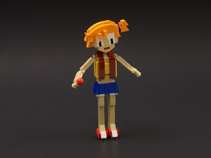 lisqr's Pokemon Lego Misty