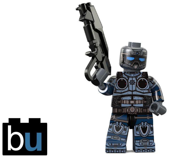BrickUltra's Custom Lego Minifigure: Carmine