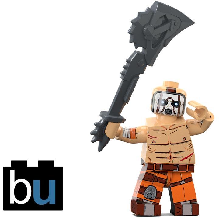 BrickUltra's Custom Lego Minifigure: Psycho