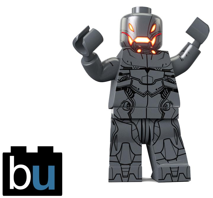 BrickUltra's Custom Lego Minifigure: Ultra