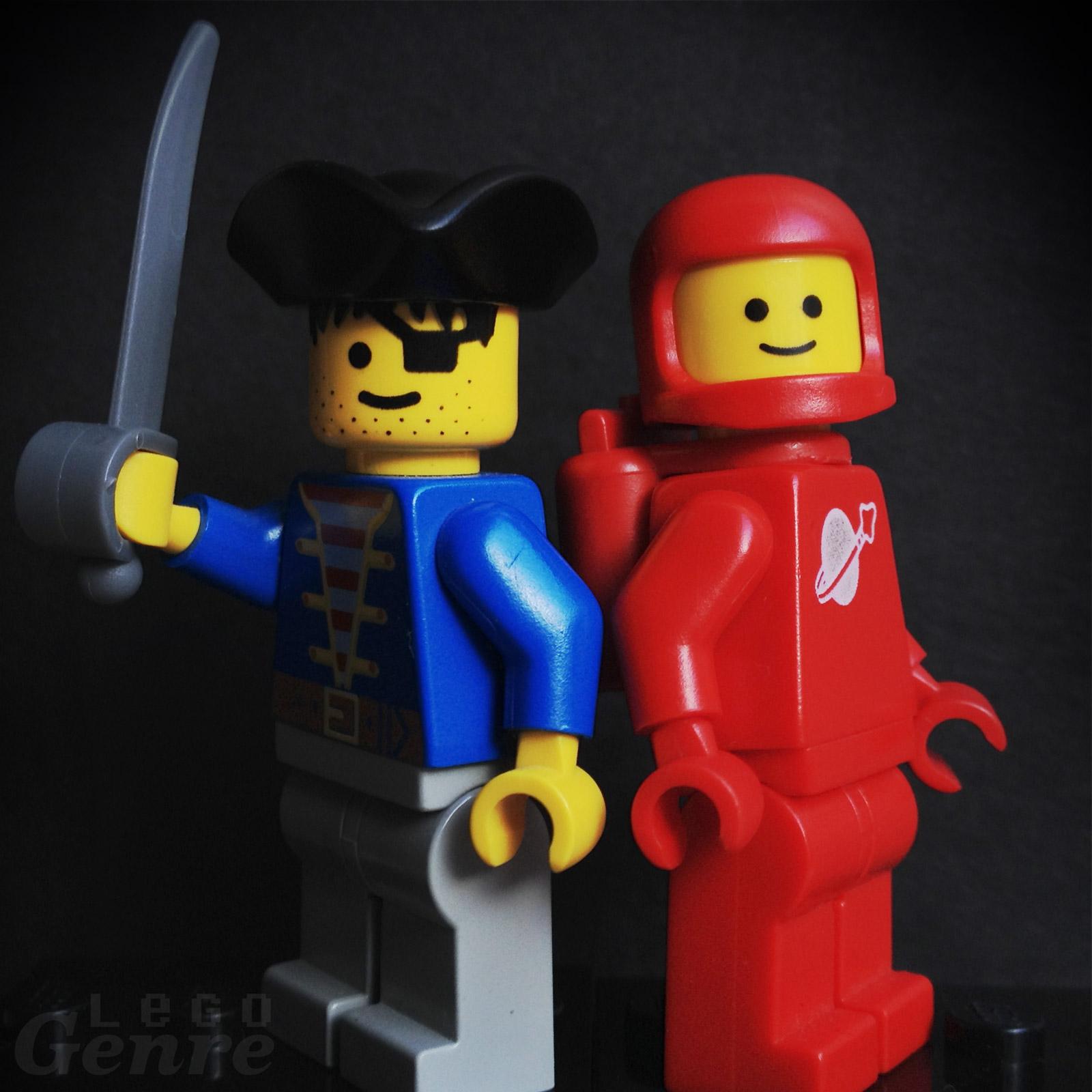 LegoGenre: Classic Pirates or Classic Space