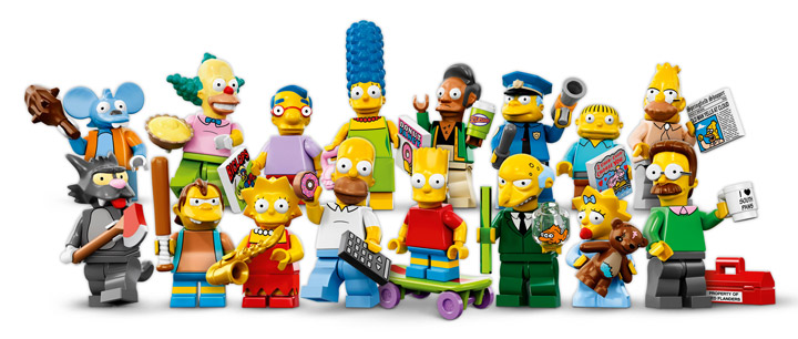 Lego Simpsons Collectible Minifigures