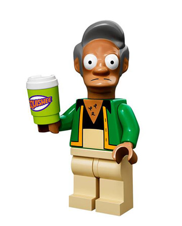 Lego Simpsons Collectible Minifigures Apu