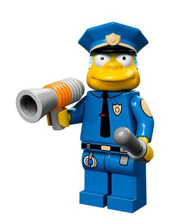 Lego Simpsons Collectible Minifigures Montgomery Clancy Wiggum