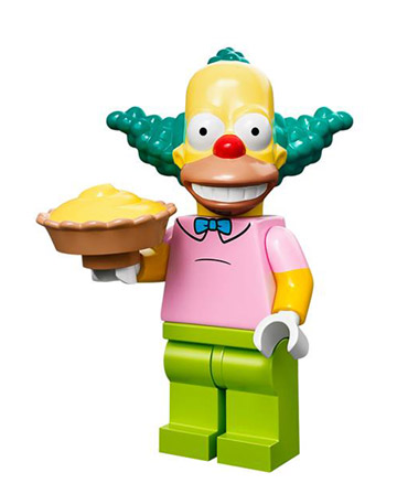 Lego Simpsons Collectible Minifigures Krusty the Clown