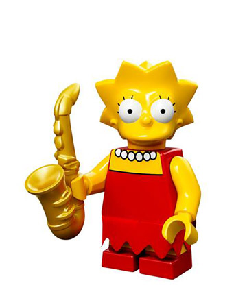 Lego Simpsons Collectible Minifigures Lisa Simpson