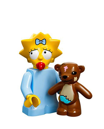Lego Simpsons Collectible Minifigures Maggie Simpson