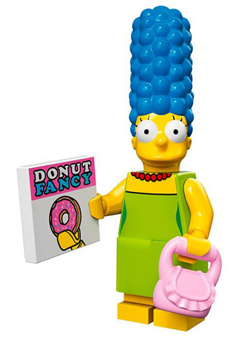 Lego Simpsons Collectible Minifigures Marge Simpson