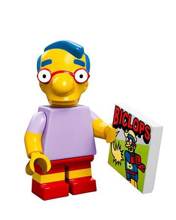 Lego Simpsons Collectible Minifigures Milhouse Van Houten