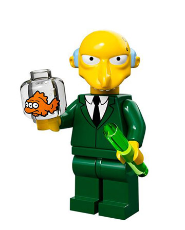 Lego Simpsons Collectible Minifigures Montgomery Burns