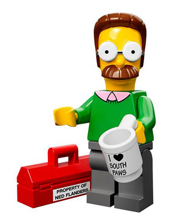 Lego Simpsons Collectible Minifigures Ned Flanders