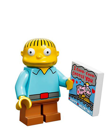 Lego Simpsons Collectible Minifigures Montgomery Ralph Wiggum