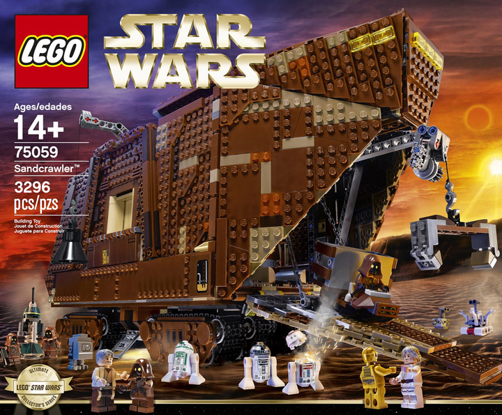Lego Star Wars Sandcrawler 75059 Box