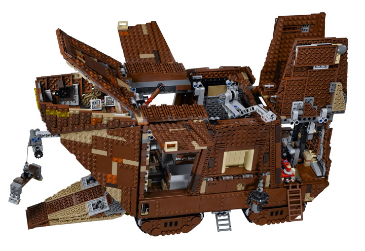 Lego Star Wars Sandcrawler 75059 Opened