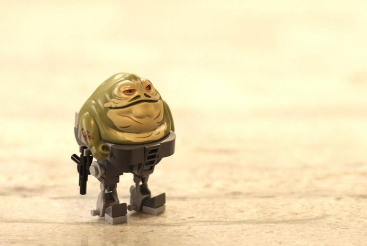 Sparkart's Jabba Lives. Lego Star Wars MOC.