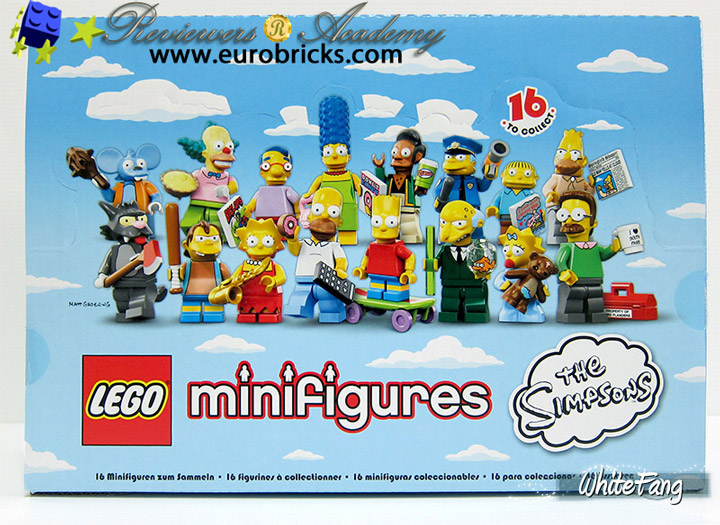 WhiteFang's Lego Simpsons Minifigures Review